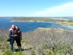 Syd and I on Fox Island