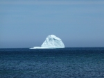 Iceberg from shore