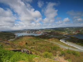 Looking back at St John's from Signal Hill