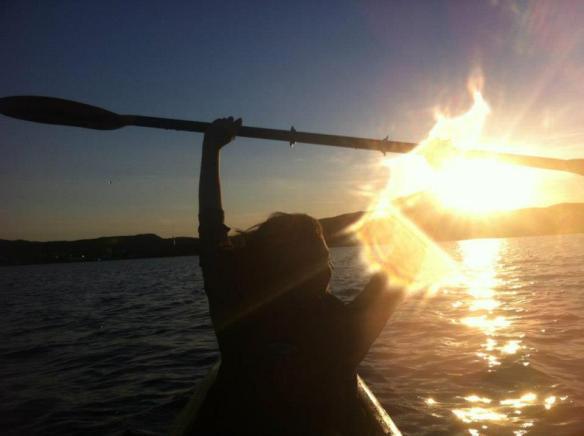 Kayaking in Trinity