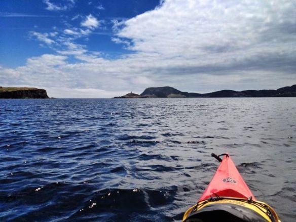 Kayaking single