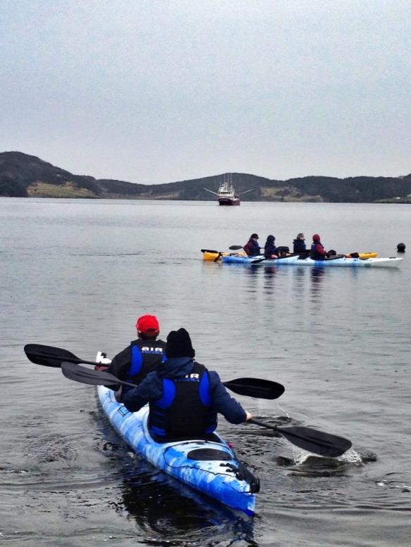 Learning to kayak