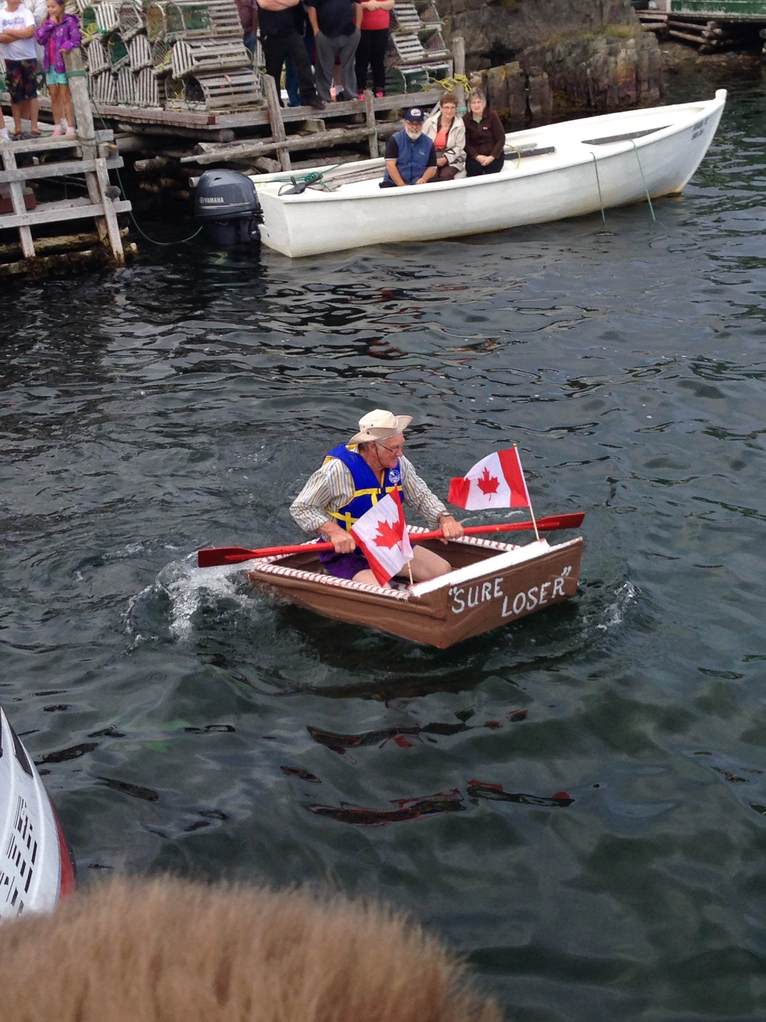 The Boats Were All Very Impressive And Surprisingly Few Capsized Though Aptly Named Royal Flush Did End Up In Drink