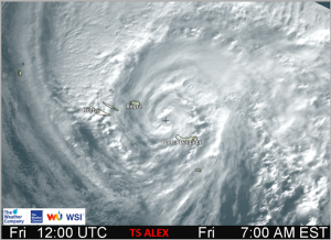 Hurricane Alex from The Weather Company