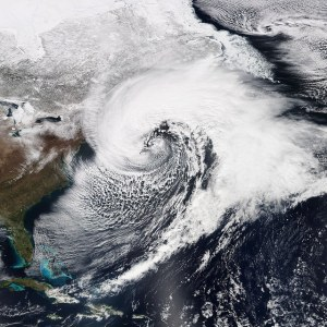 Nor'easter courtesy of The Weather Network